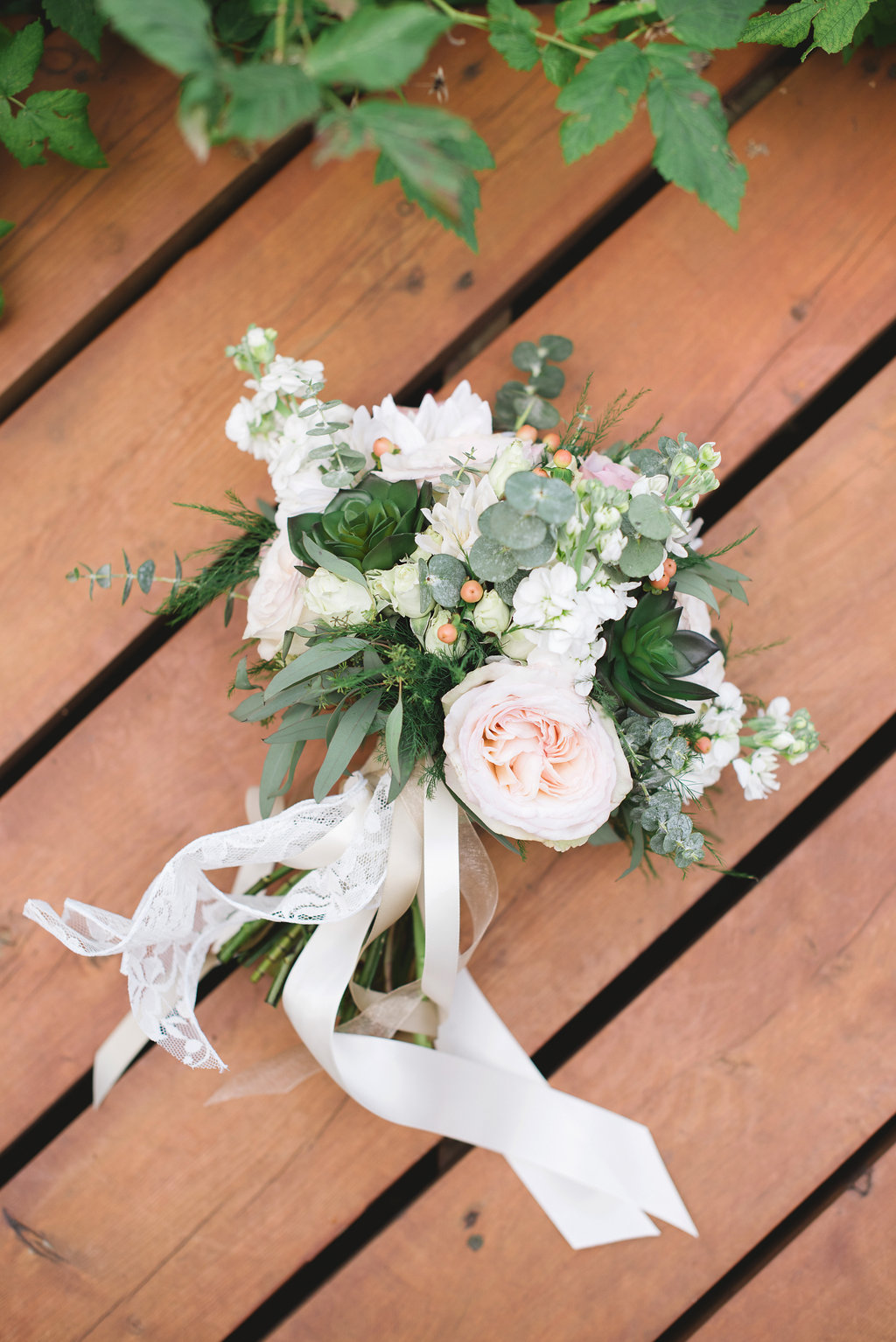 vintage bridal bouquet in okotoks alberta