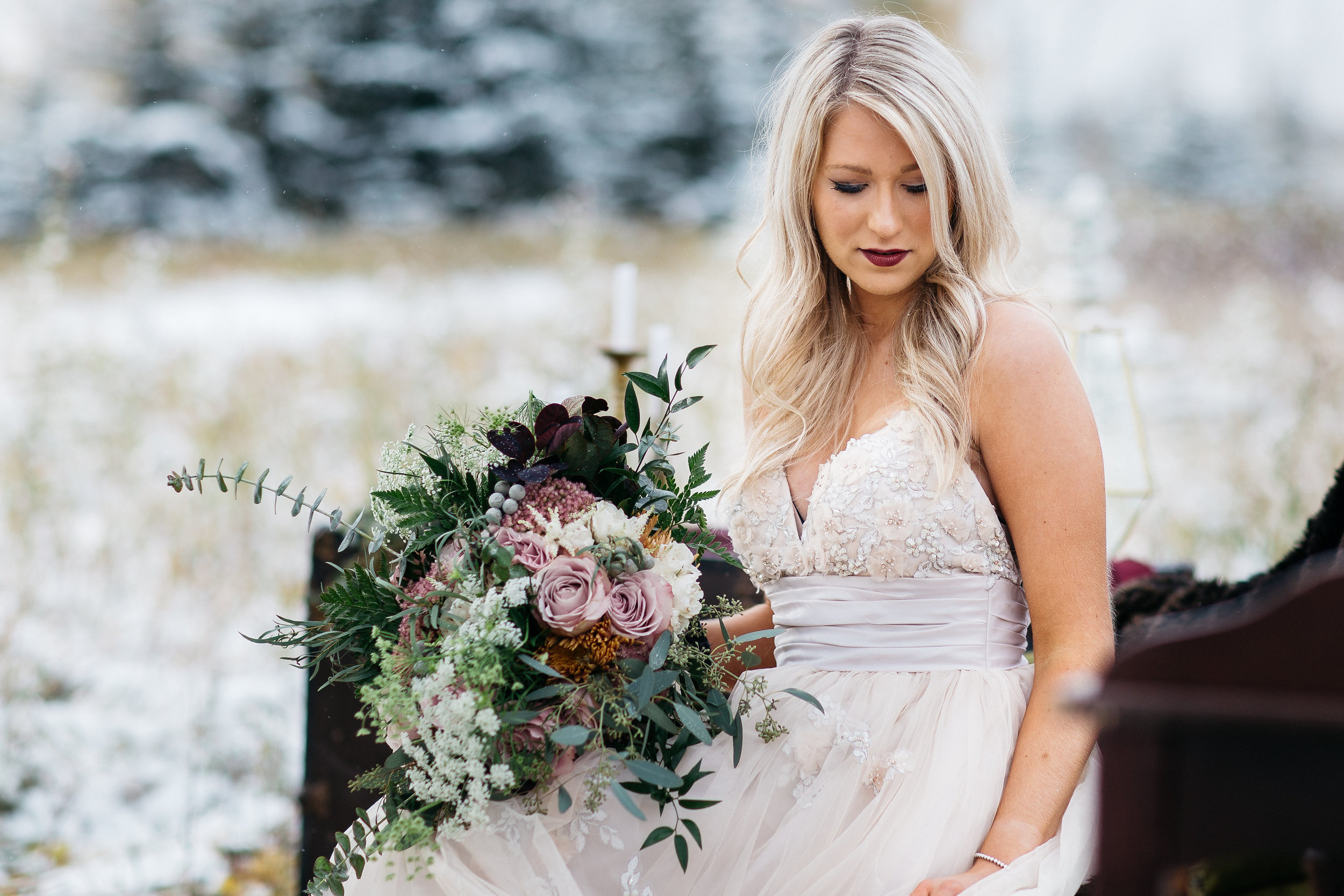 bridal bouquets in calgary, alberta