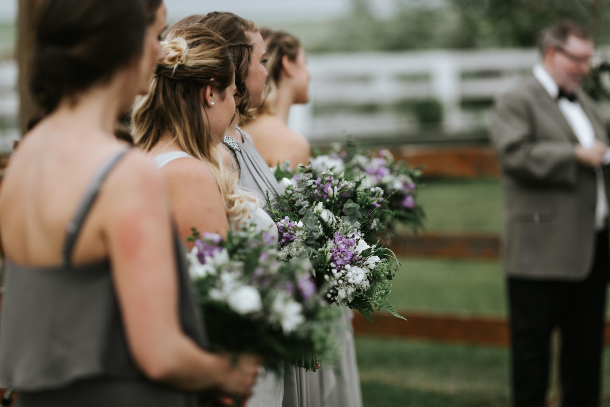 bridal and bridesmaid bouquets in calgary, alberta