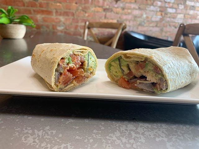 Not only does #CapHillBourbon have seasonal drinks we also have seasonal food!!! Come try our delicious Chicken Avocado Wrap (chicken avocado hummus tomatoes & red onion) YUMMMM 😋 #CapHillComeChill