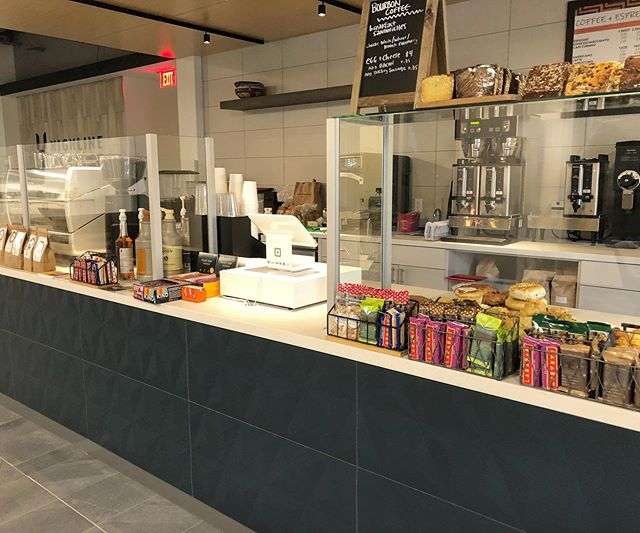 We are OPEN today for our soft launch at 8401 Greensboro Drive in McLean! Come see Grace and the team at our newest location between 7-4! . . . #newstore #softlaunch #bourboncoffee #rwandacoffee #greensboro #highline #rwanda #coffeeshop #dccoffee #grandopening #coffee