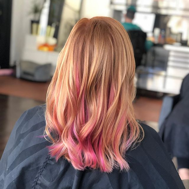 Color, highlight and a little extensions for @therealkaribyron 💁🏼♀️ @kayscosmo #teamworkmakesthedreamwork #kayscosmo #acutecollective