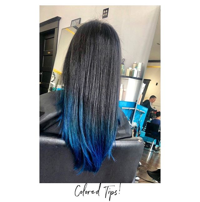 Feelin' blue 🌀  @kayscosmo Achieved this using @joico color intensity in mermaid blue and John Paul Mitchell in blue!