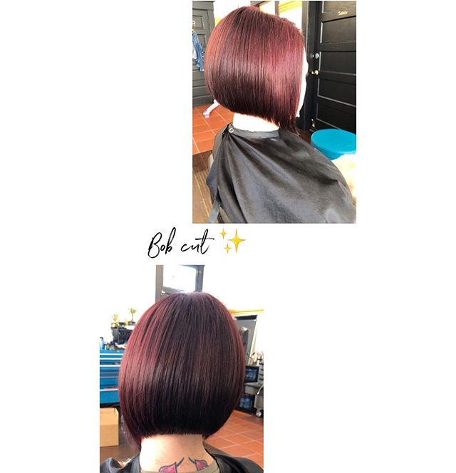 A bob cut is always a good idea ✨  Effortless and great for the summertime✨