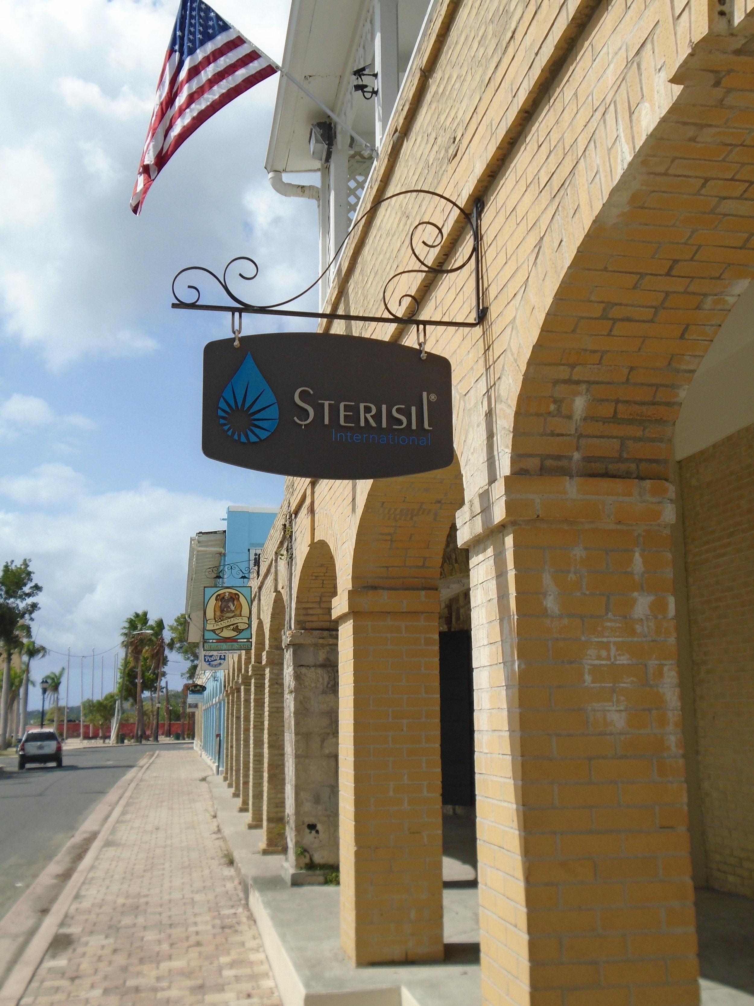 Sterisil Int'l Headquarters-Strand Street