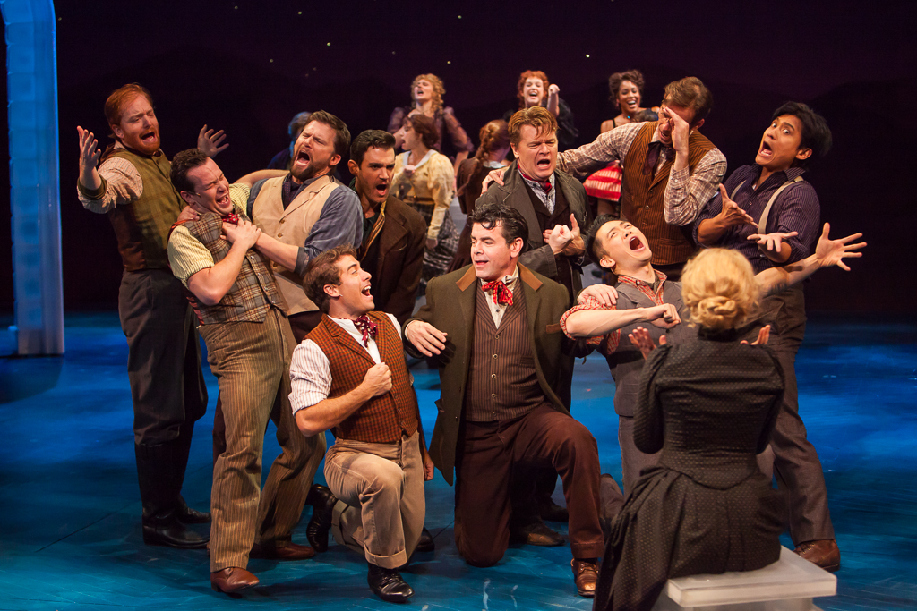 Denver Center Theatre Company's revival of UNSINKABLE MOLLY BROWN. Production Photographer Jennifer Koskinen | Merritt Portrait Studio