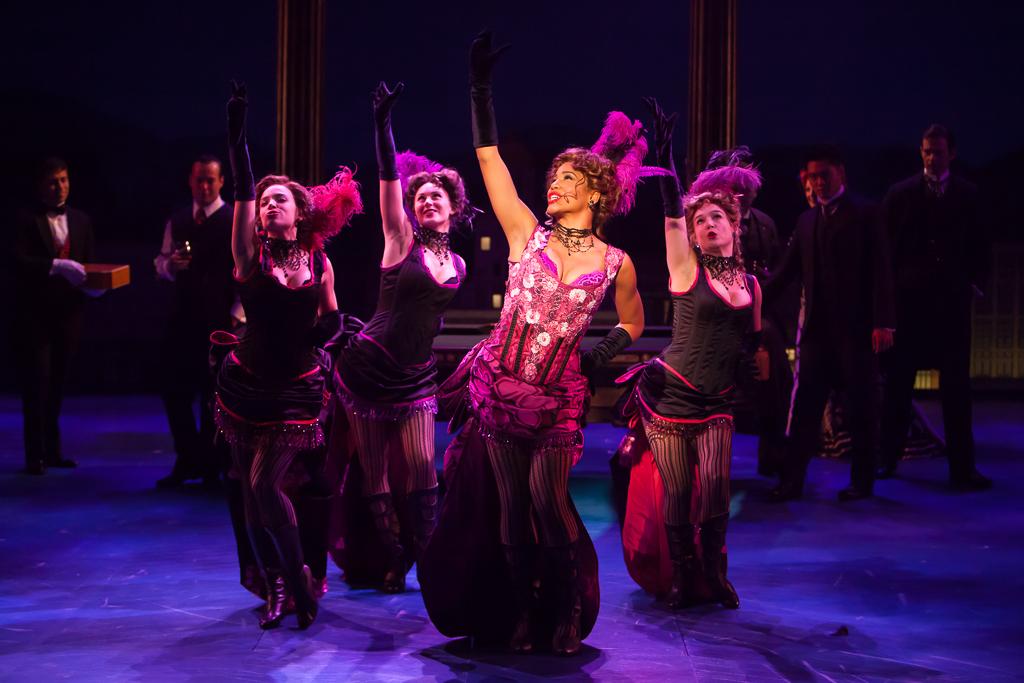Denver Center Theatre Company's 2014 revival of UNSINKABLE MOLLY BROWN. Production Photographer Jennifer Koskinen | Merritt Design Photo