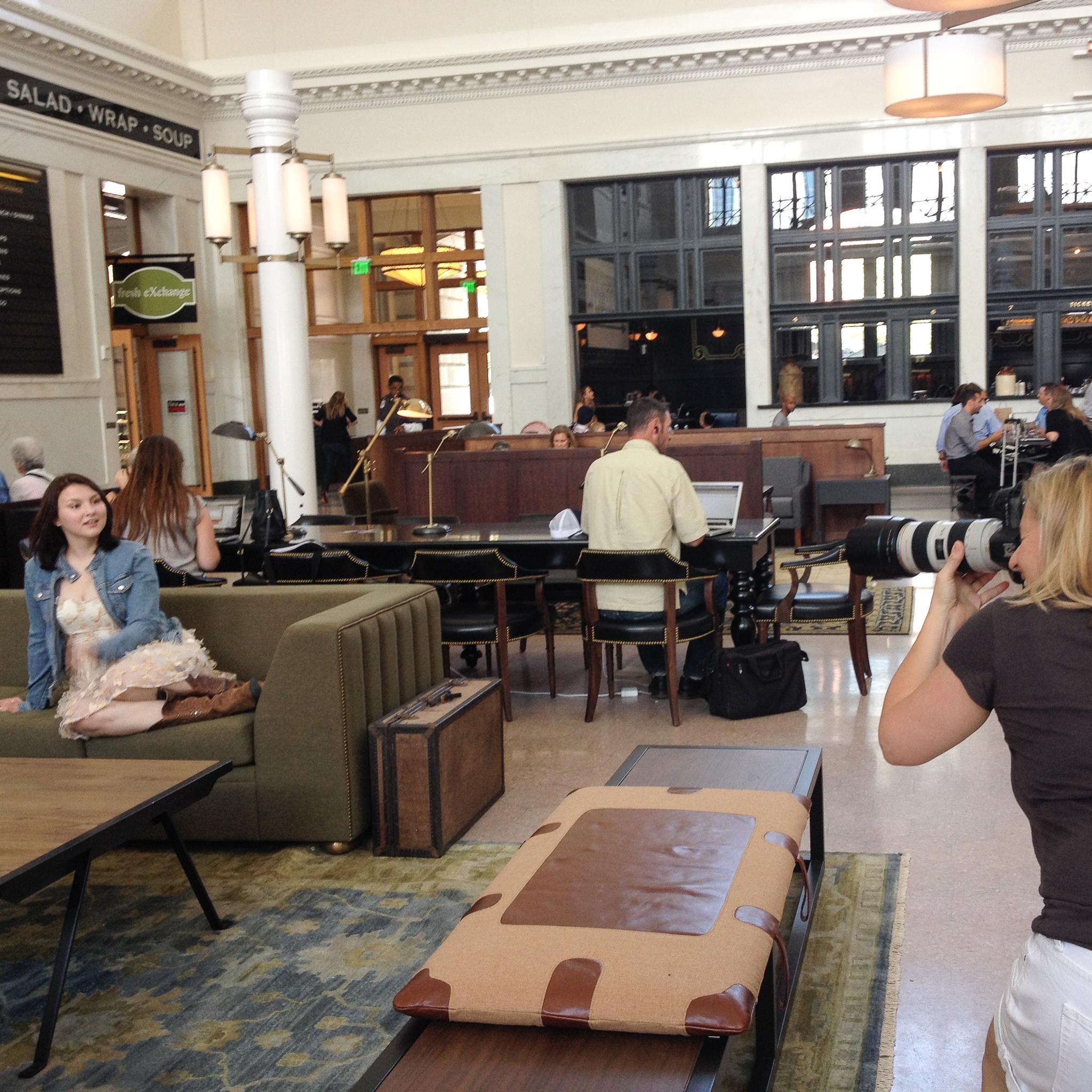 Behind the scenes with Denver high school senior photographer Jennifer Koskinen | Merritt Portrait Studio