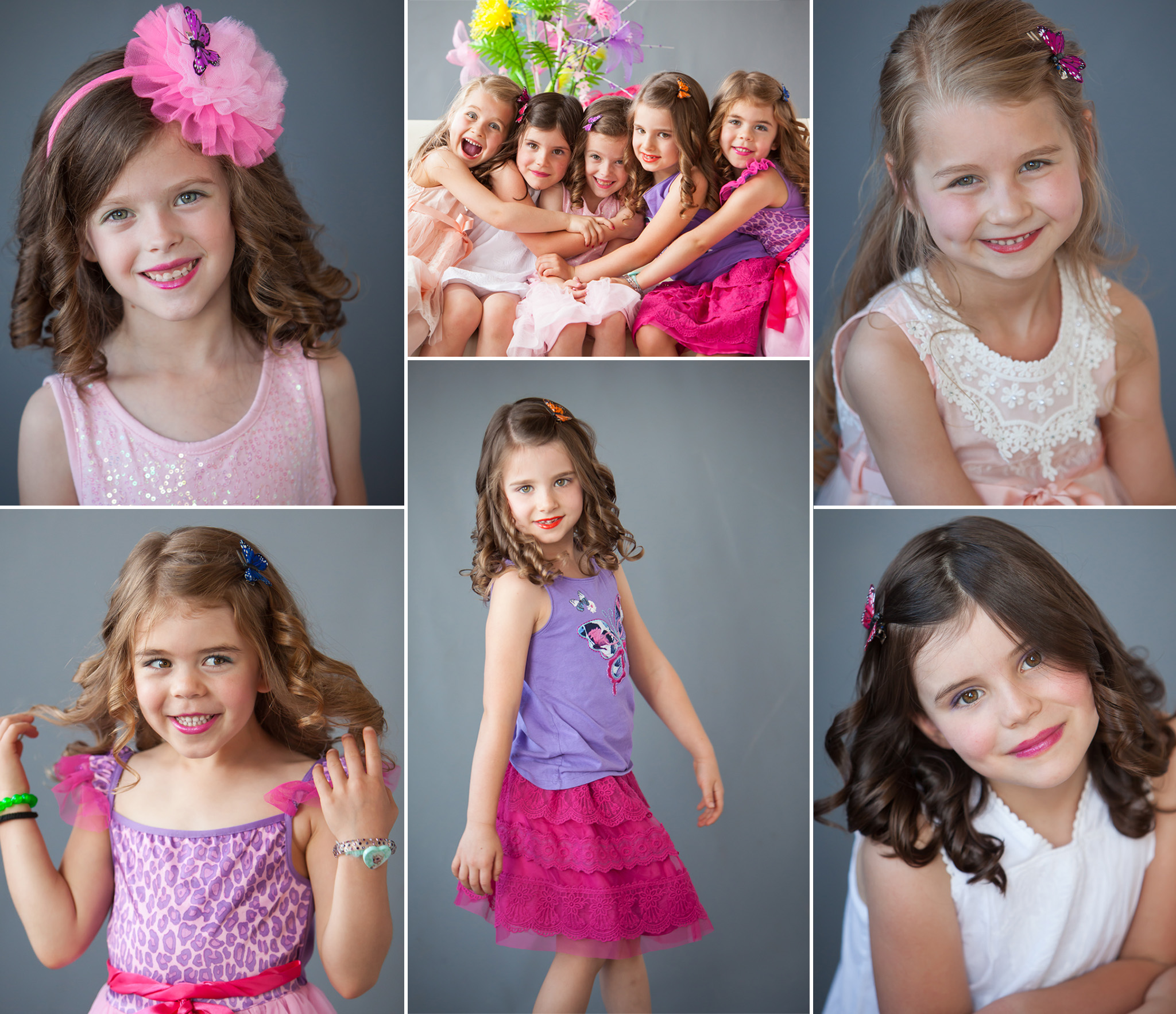 Girls' Portrait Party in Denver with photographer Jennifer Koskinen, Merritt Portrait Studio