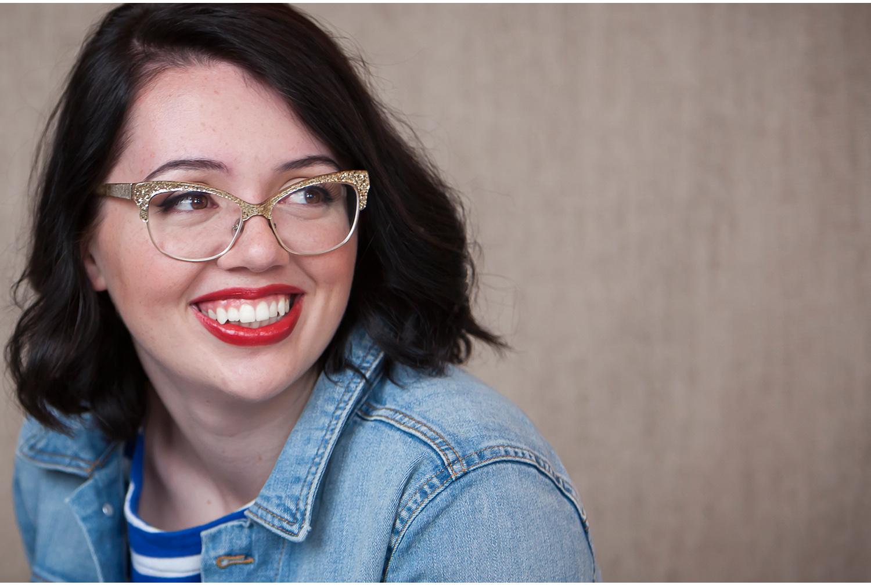 Happy, Laughing High School Senior Pictures with Denver Photographer Jennifer Koskinen | Merritt Portrait Studio