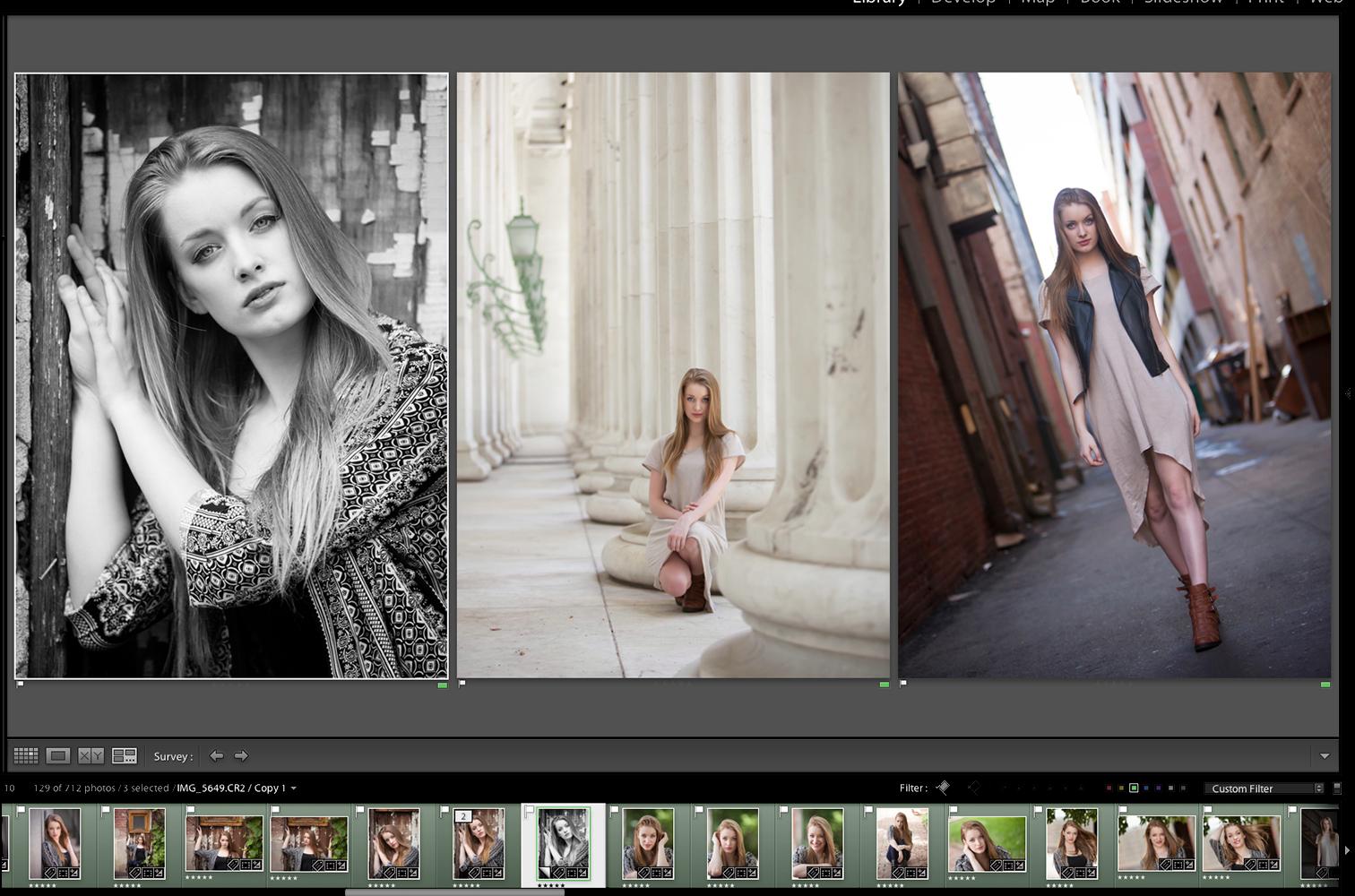 Screenshot: Senior Pictures Denver | Merritt Portrait Studio