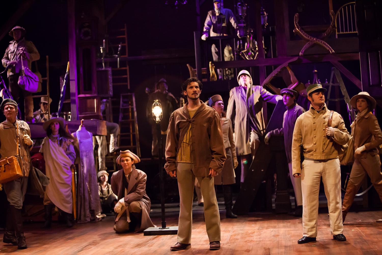 HENRY V at the Colorado Shakespeare Festival.  Production Photographer Jennifer Koskinen | Merritt Design Photo