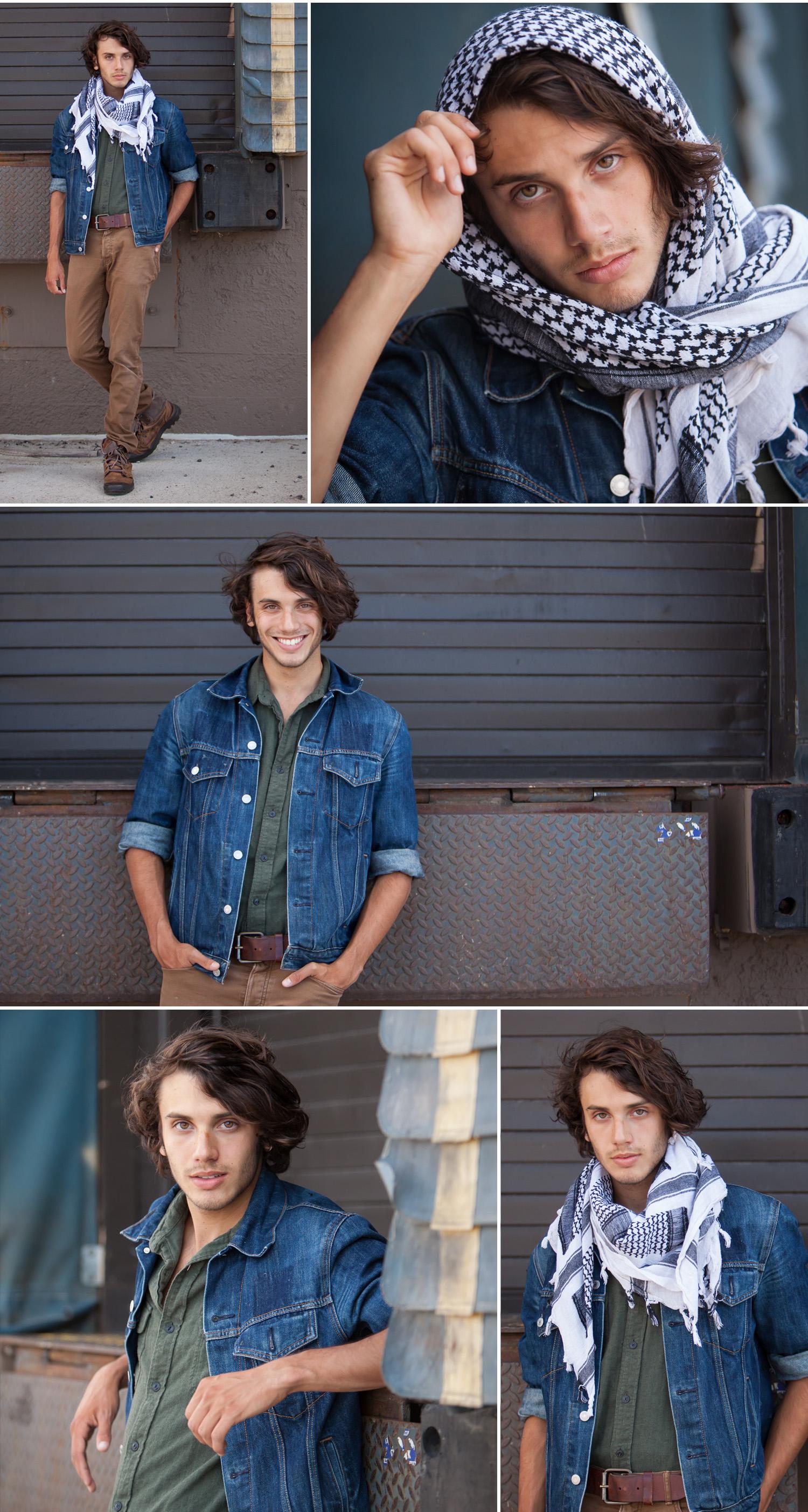 Male Fashion Talent Photos in Denver
