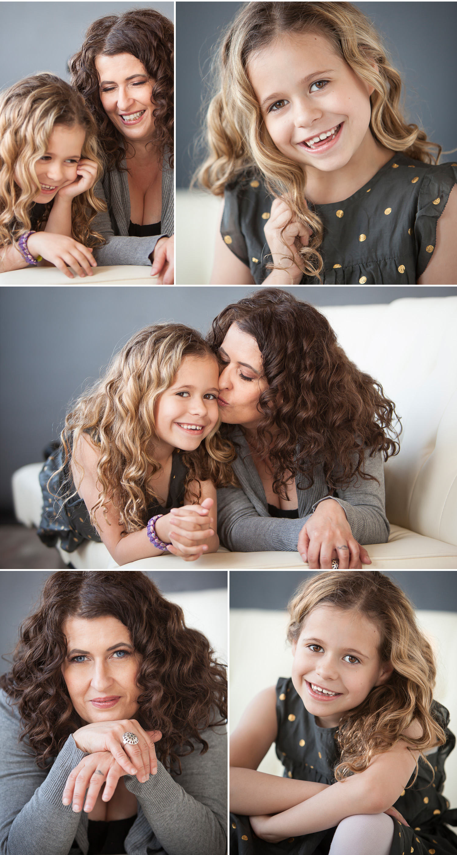 mother daughter pictures by Denver portrait photographer Jennifer Koskinen, Merritt Portrait Studio