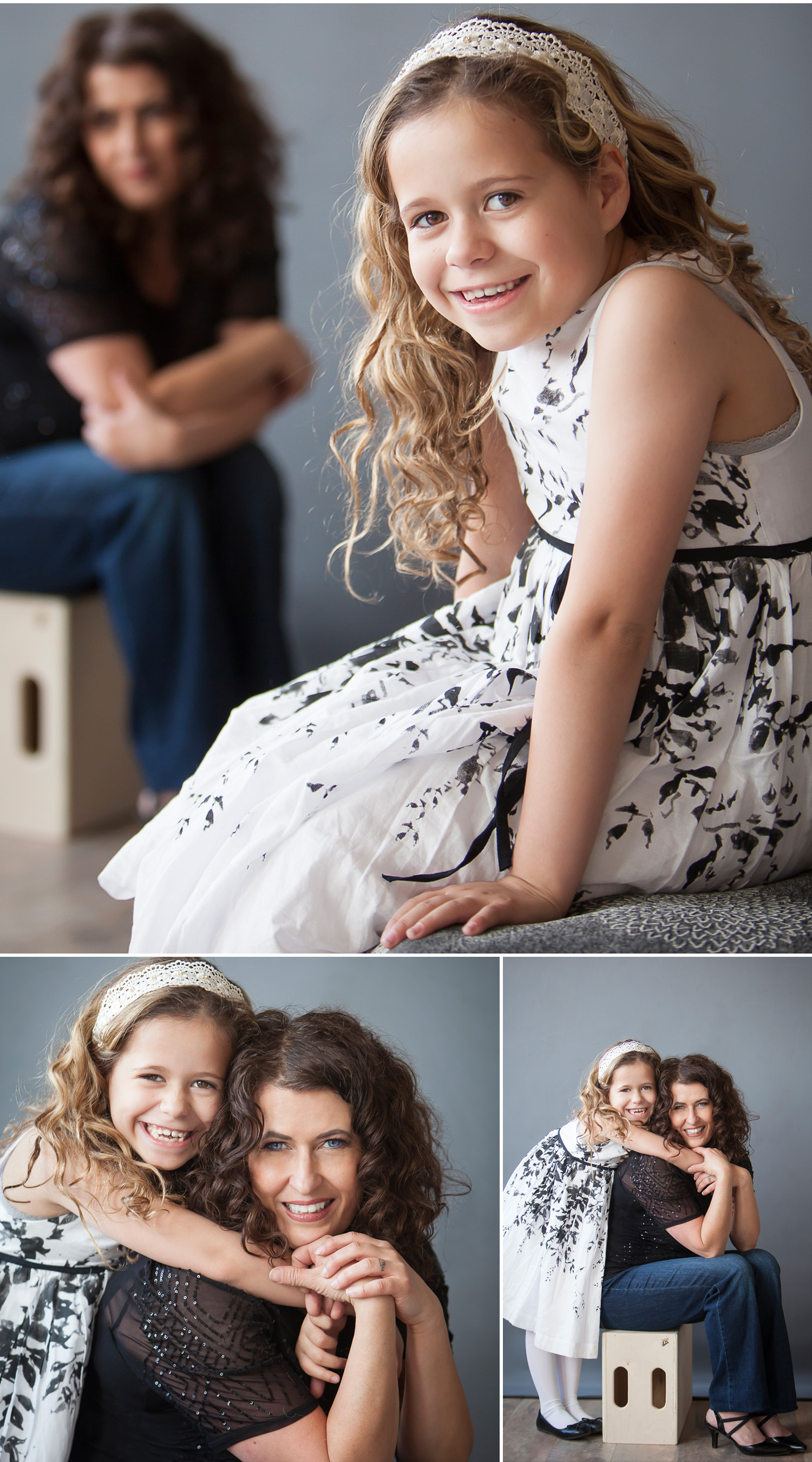 Mother daughter pictures by Denver photographer Jennifer Koskinen, Merritt Portrait Studio