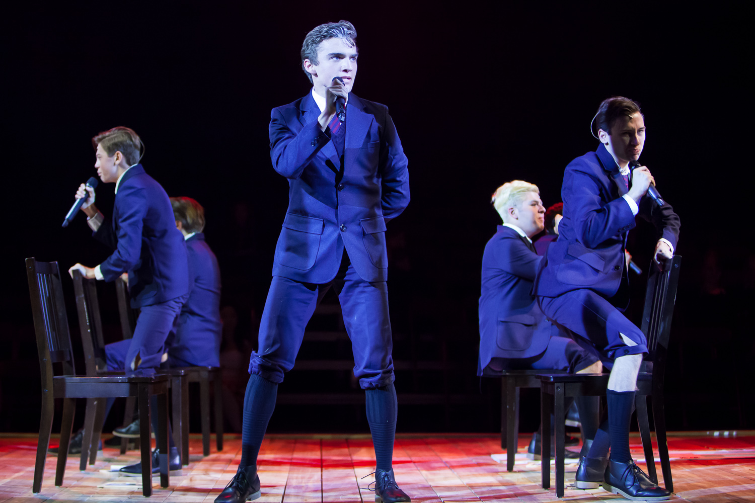 SPRING AWAKENING at Denver School of the Arts. Photo by Jennifer Koskinen | Merritt Design Photo
