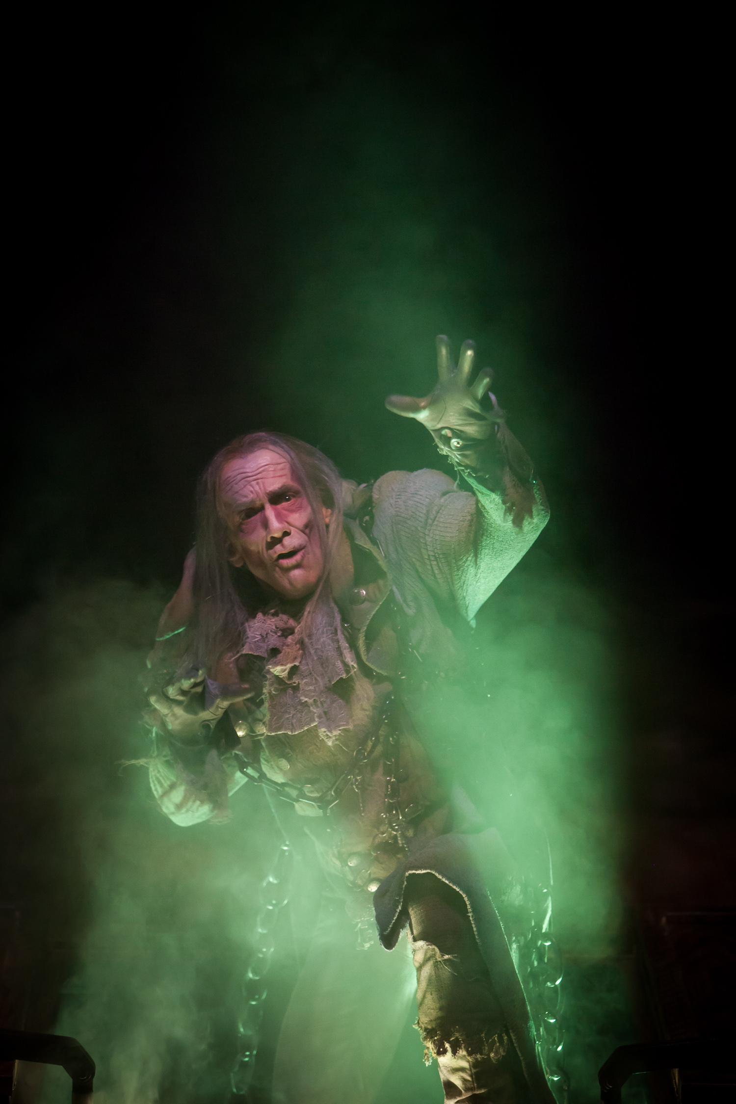 John Hutton in A CHRISTMAS CAROL at the Denver Center Theatre Company, photo by Jennifer Koskinen | Merritt Design Photo