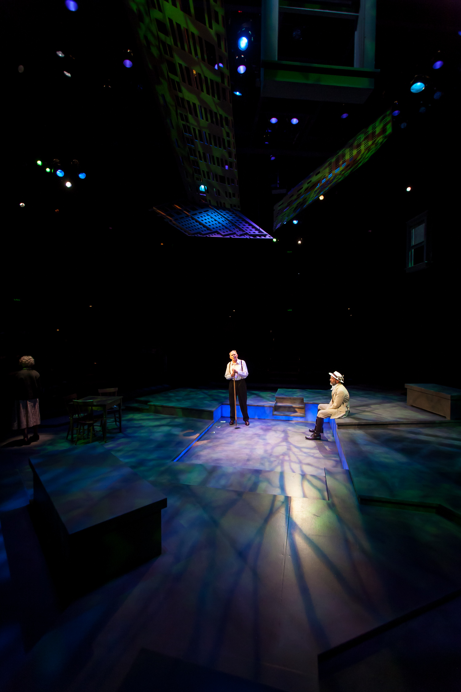 DEATH OF A SALESMAN at the Denver Center Theatre Company, photo by Jennifer Koskinen | Merritt Design Photo
