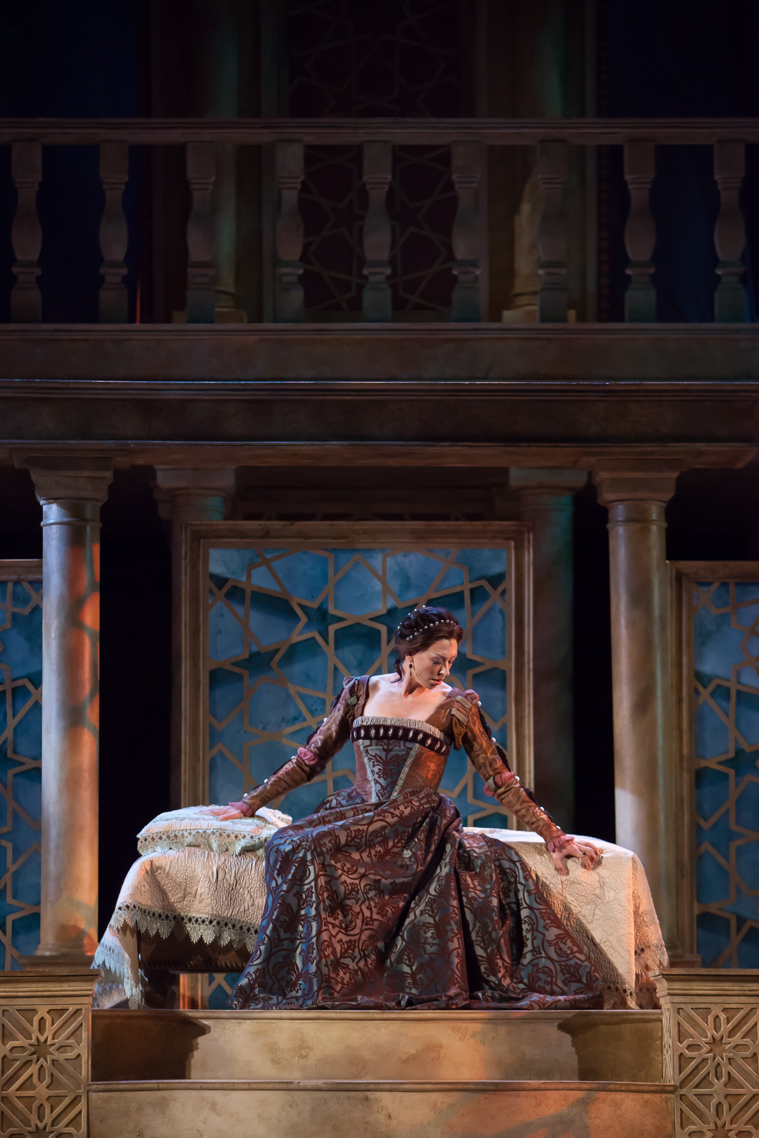 Vanessa Morosco in OTHELLO at the Colorado Shakespeare Festival, photo by Jennifer Koskinen, Merritt Design Photo