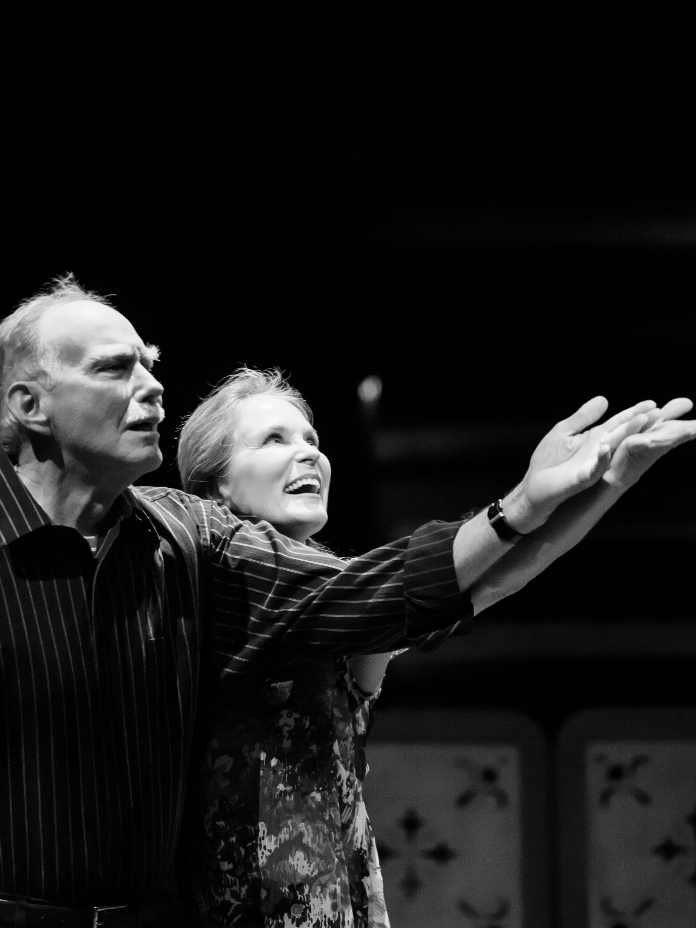 Mike Harman and Kathleen McCall in BENEDICTION at the Denver Center Theatre Company, photo by Jennifer Koskinen, Merritt Design Photo