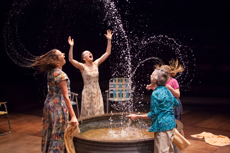 Kathleen McCall in BENEDICTION at the Denver Center Theatre Company, photo by Jennifer Koskinen, Merritt Design Photo