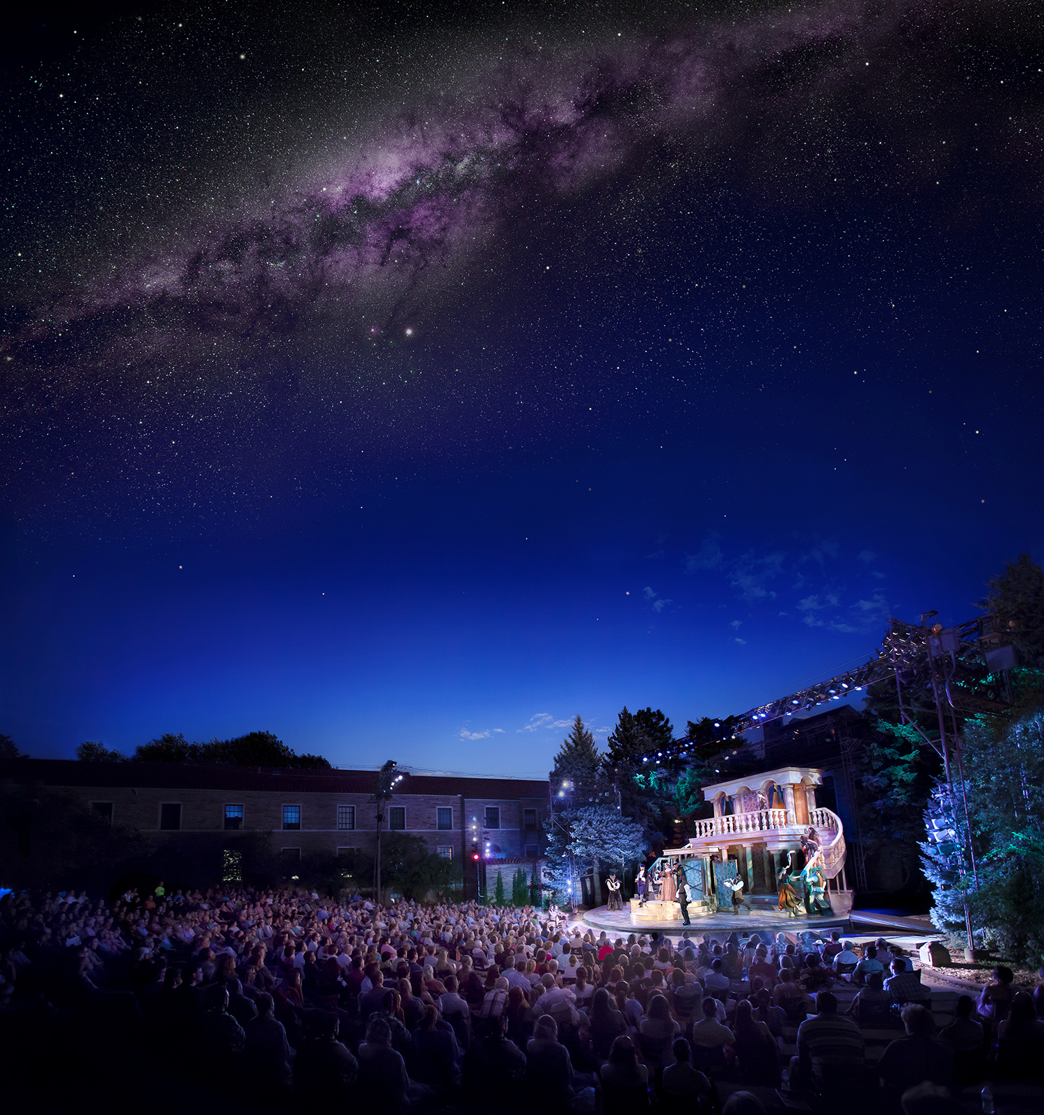"""Twilight """"experiential"""" image created for Colorado Shakespeare Festival, Boulder CO"""