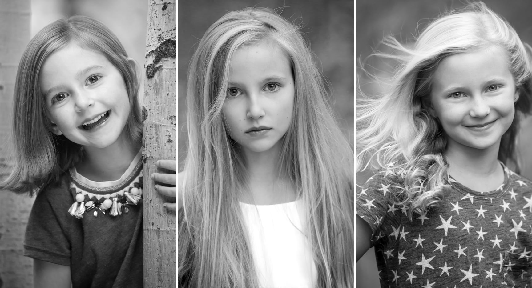 Girls Headshots, by photographer Jennifer Koskinen | Merritt Portrait Studio