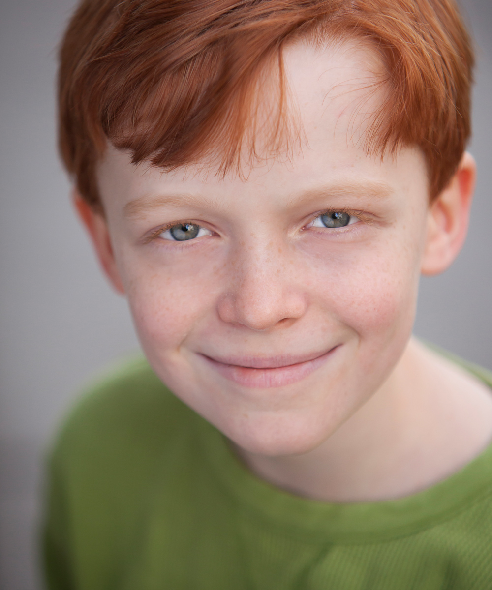 Child Actor Headshot in Denver by Jennifer Koskinen | Merritt Design Photo