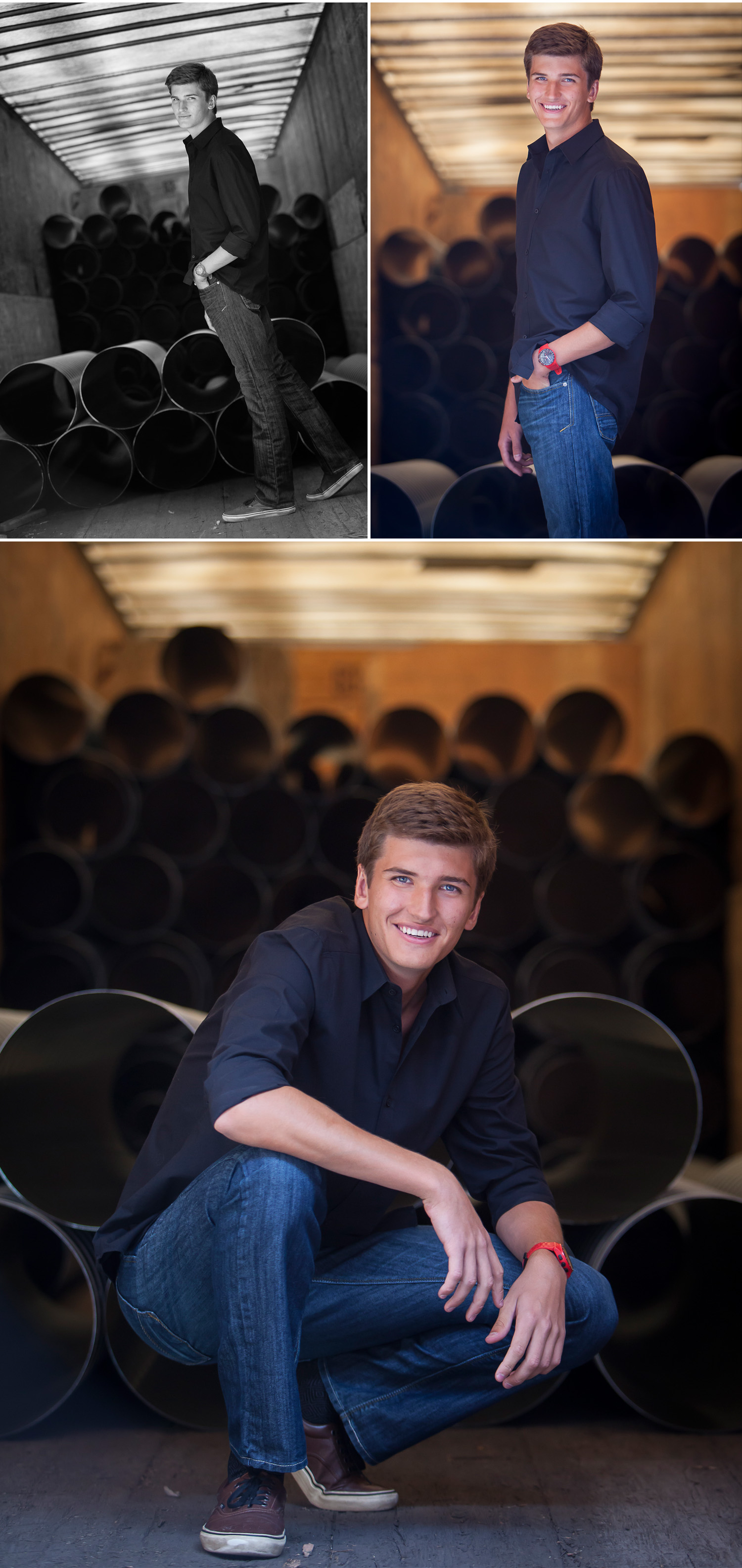 High school senior boy photos in Denver with photographer Jennifer Koskinen | Merritt Portrait Studio