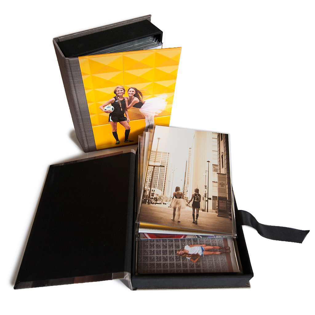 Senior Favorite: Custom Image Box with Mounted Prints { includes digital files }