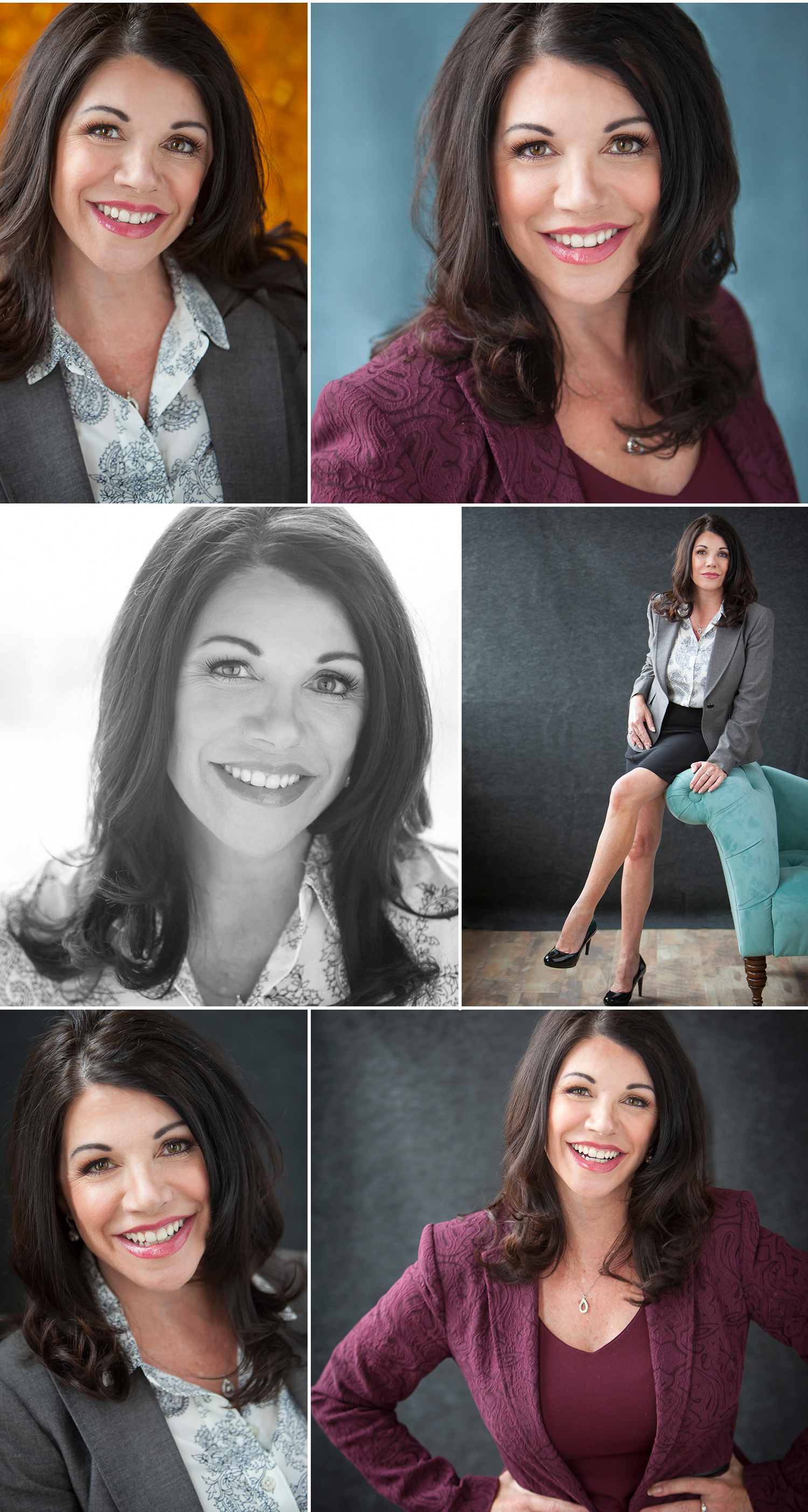 Luxurious Personal Branding Portrait Session of gorgeous brunette, with Denver photographer Jennifer Koskinen | Merritt Portrait Studio