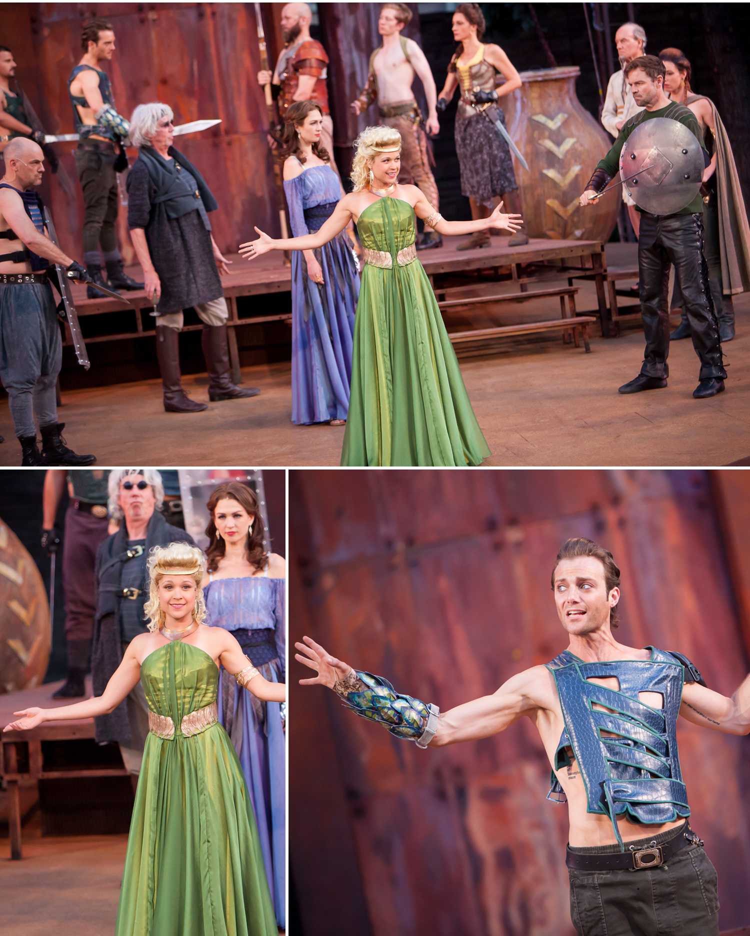 Troilus & Cressida at Colorado Shakespeare Festival, photographed by Jennifer Koskinen, Merritt Portrait Studio
