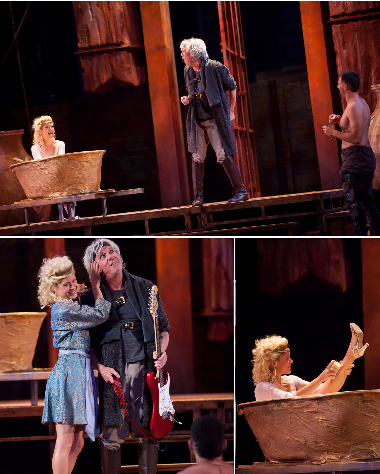 Live dramatic stage production photography by Jennifer Koskinen
