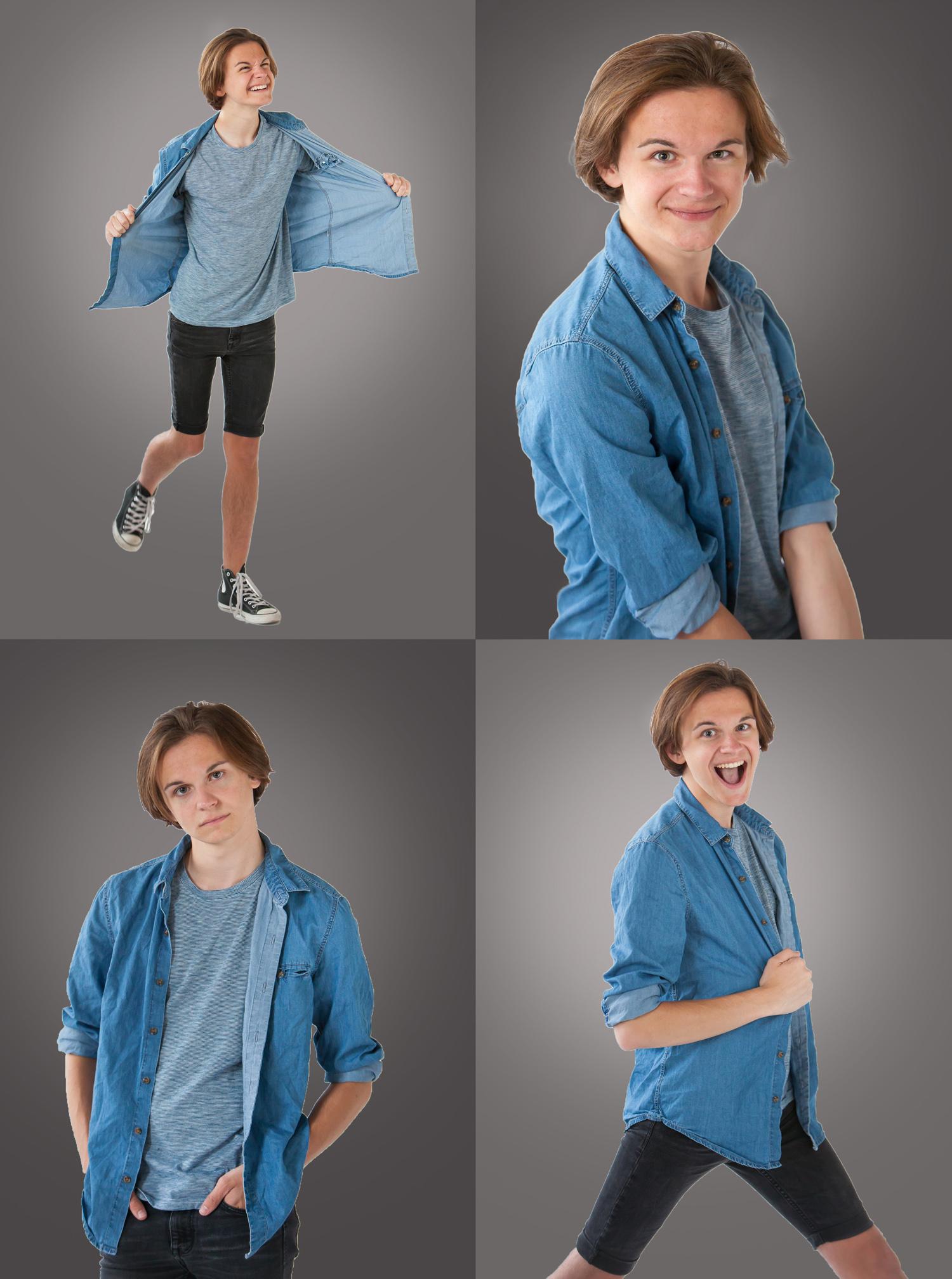 Playful senior pictures in Denver, photographer Jennifer Koskinen, Merritt Portrait Studio