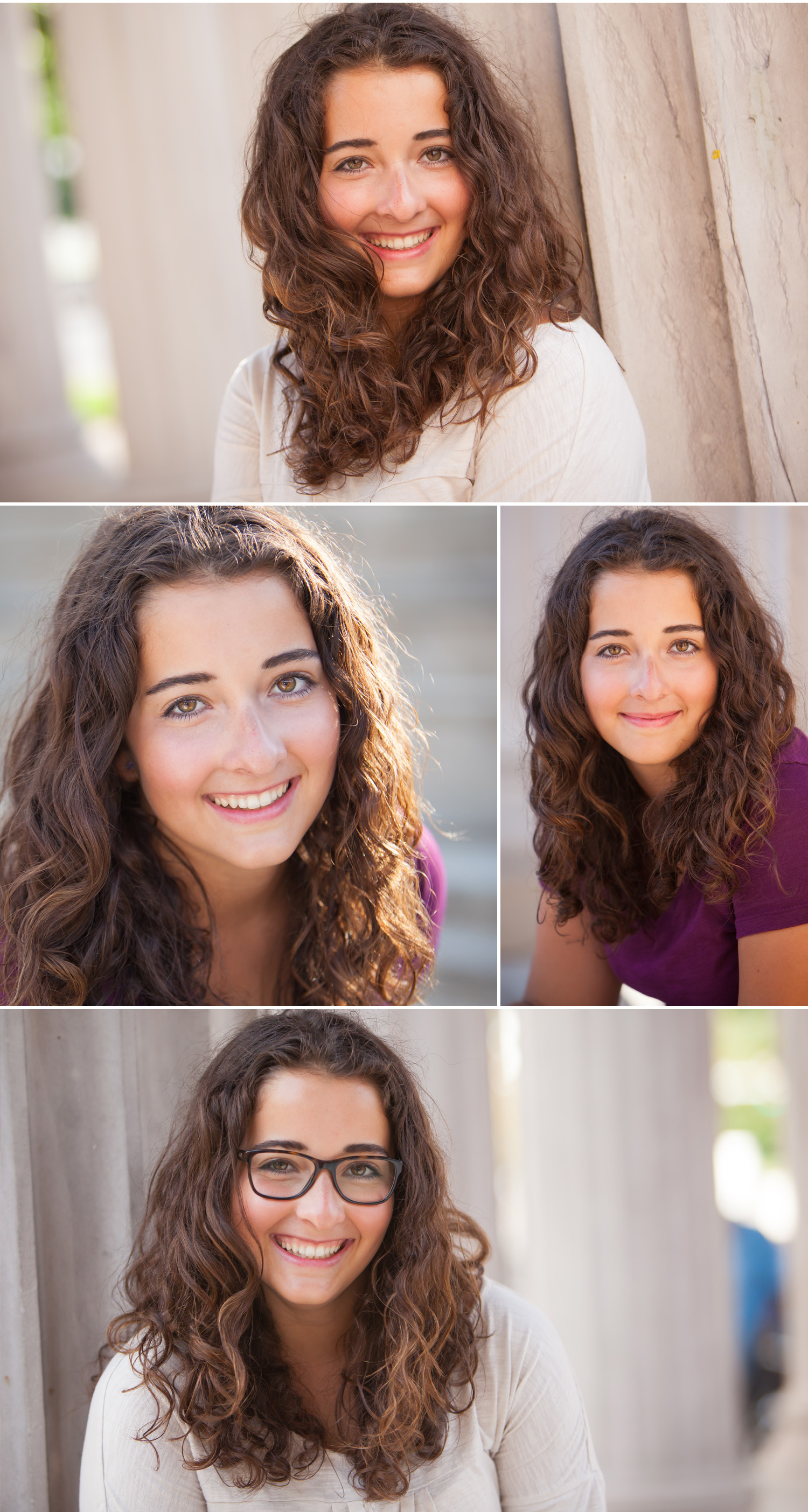 Vibrant, Urban Senior Pictures in downtown Denver with Merritt Portrait Studio
