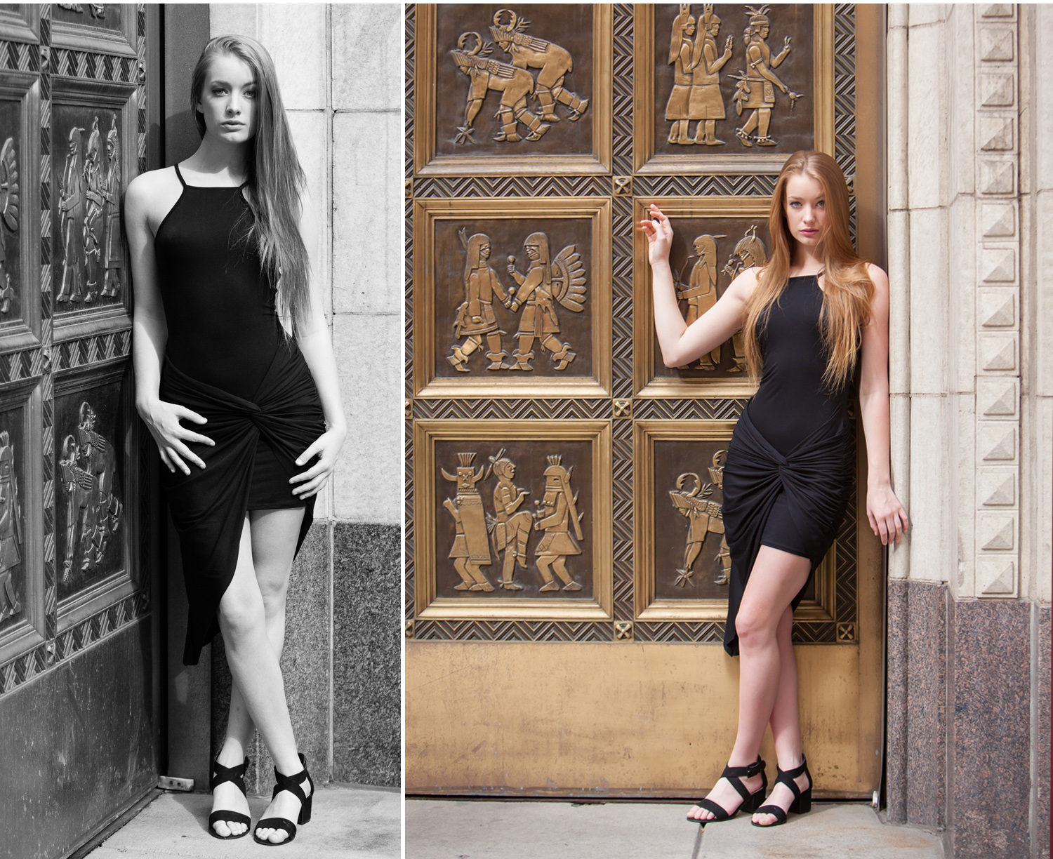 LBD Fashion Portrait Session in Denver