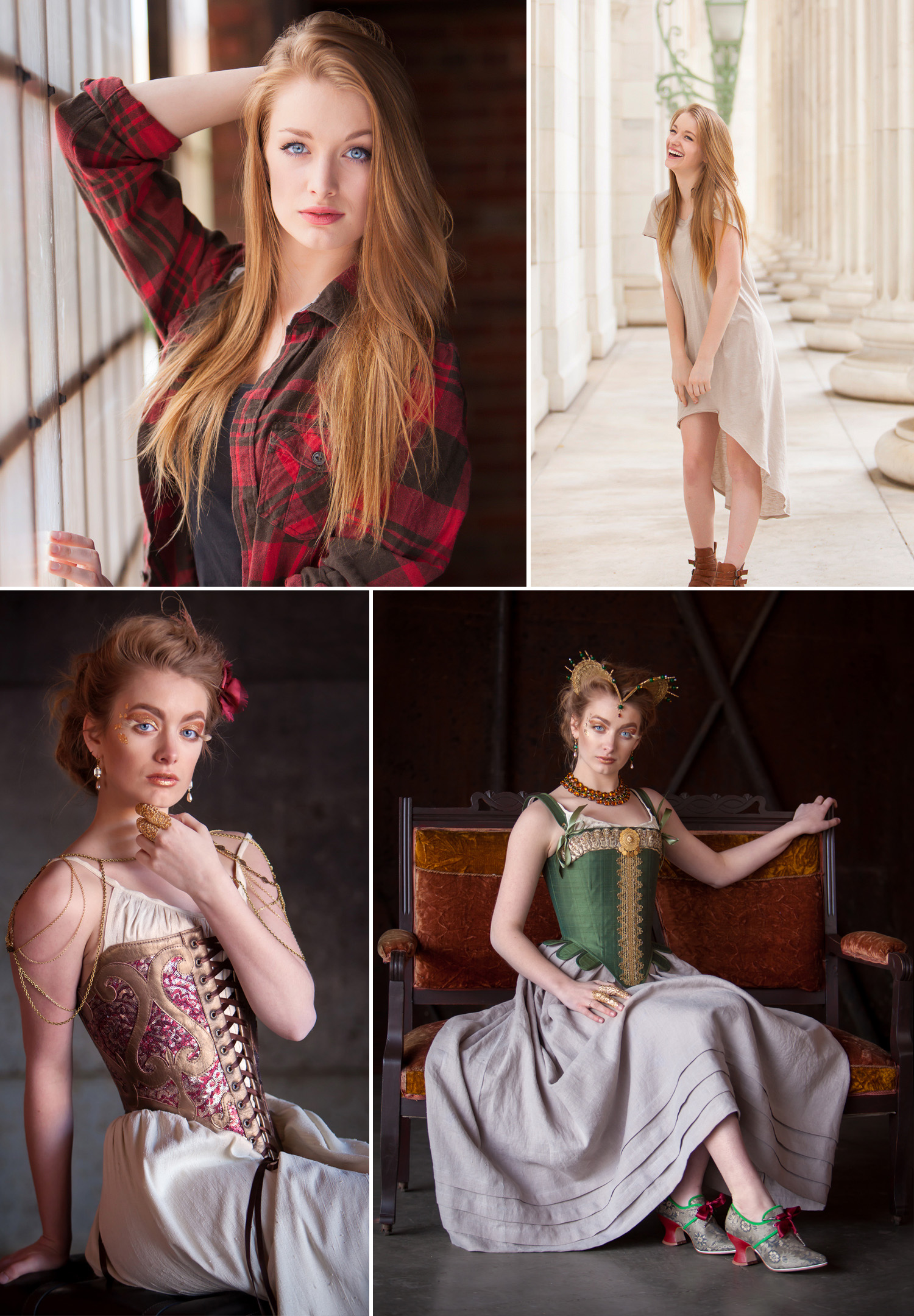 Senior Pictures and Fashion Session with Sarah