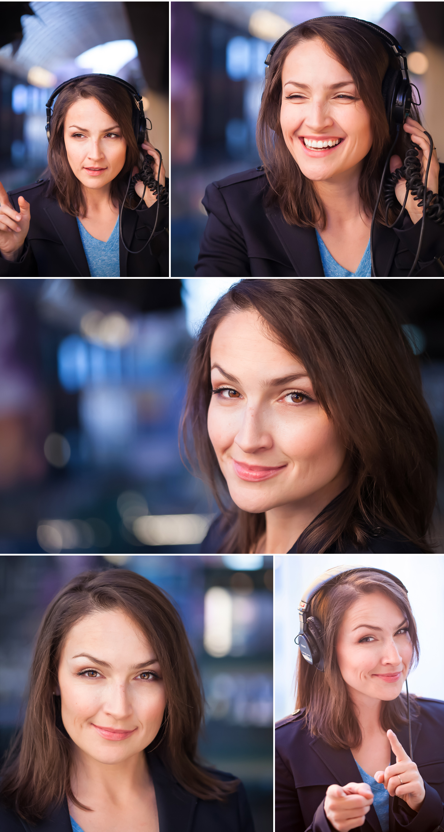 Actor and Voice Talent Headshots in Denver