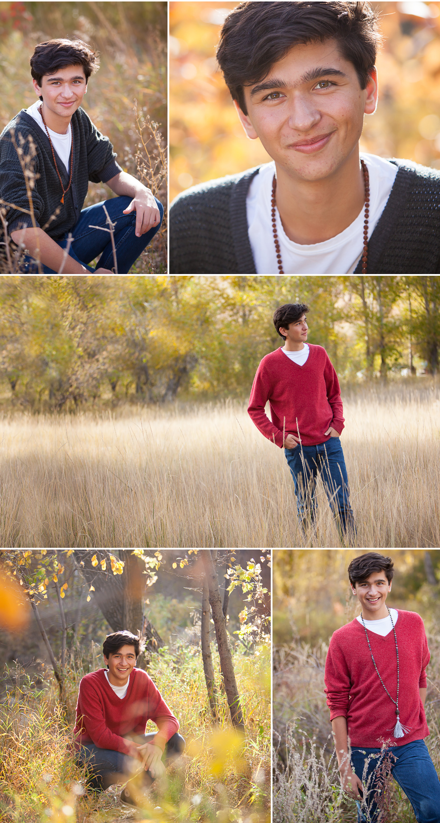 Senior Pictures in Fall