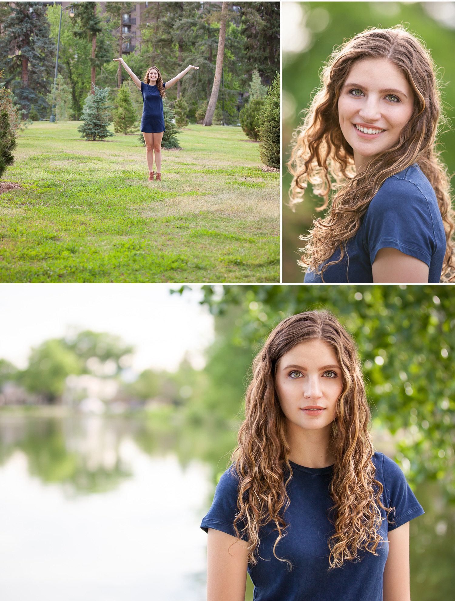 Senior Portraits in Denver Park