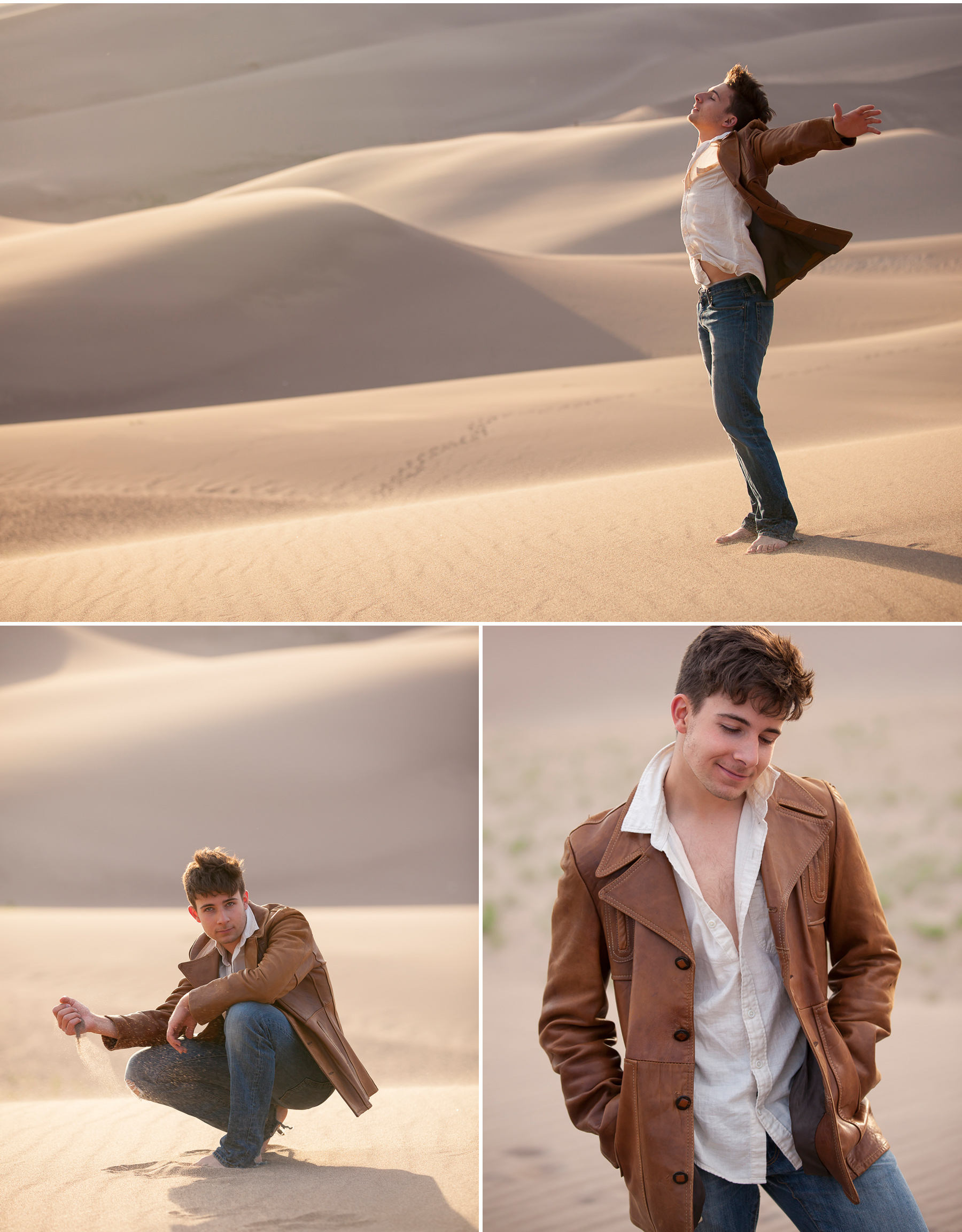 Adventurous Senior Guy Pictures with Denver photographer Jennifer Koskinen, Merritt Portrait Studio