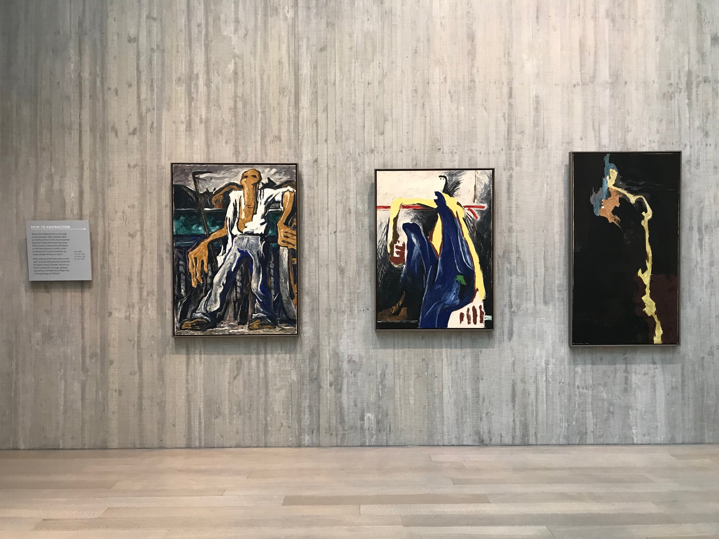 From object to abstraction in Clyfford Still's paintings