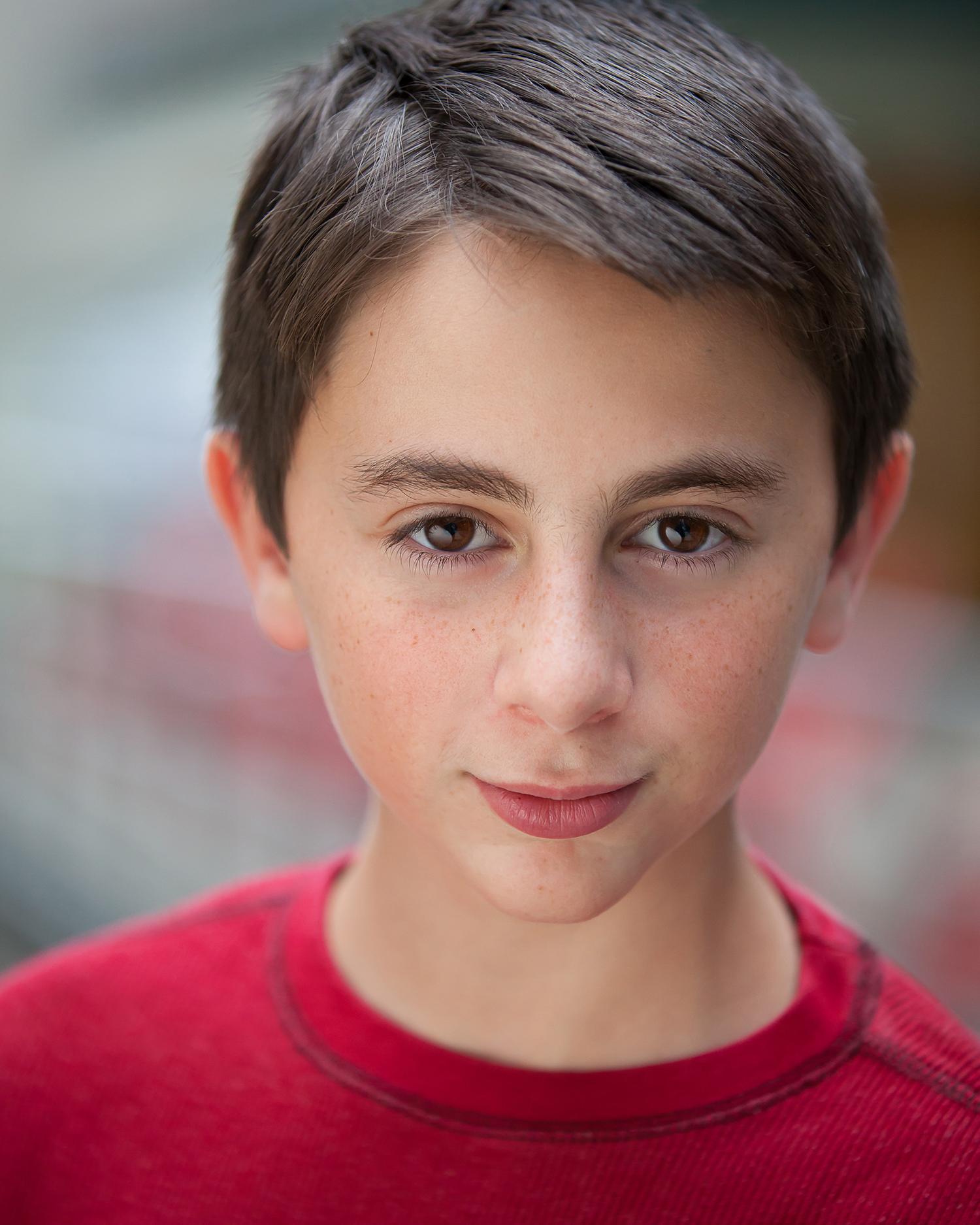 Child boy Actor Headshots with Denver photographer Jennifer Koskinen | Merritt Portrait Studio