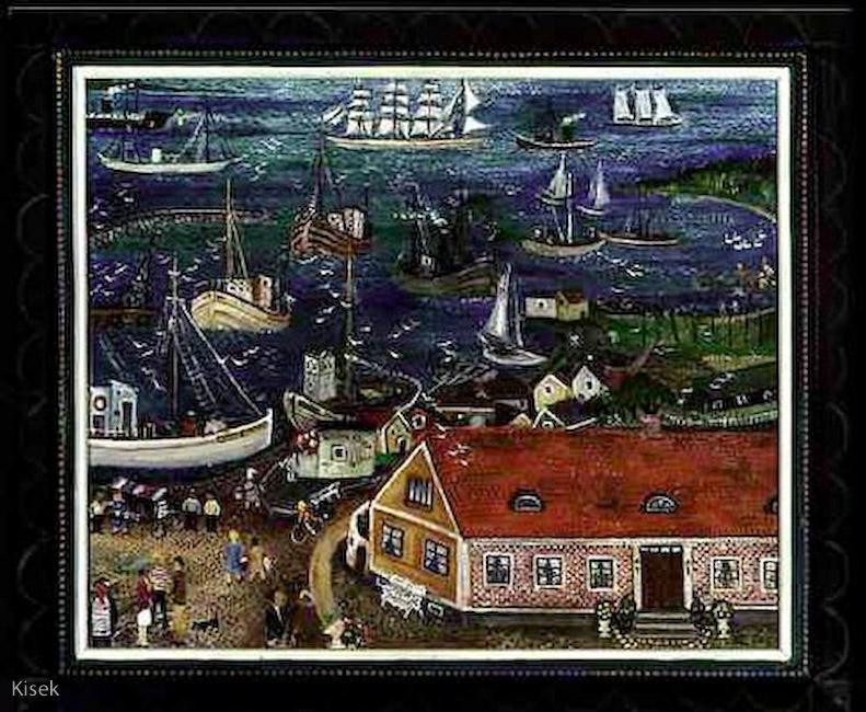 Hamnen i Torekov