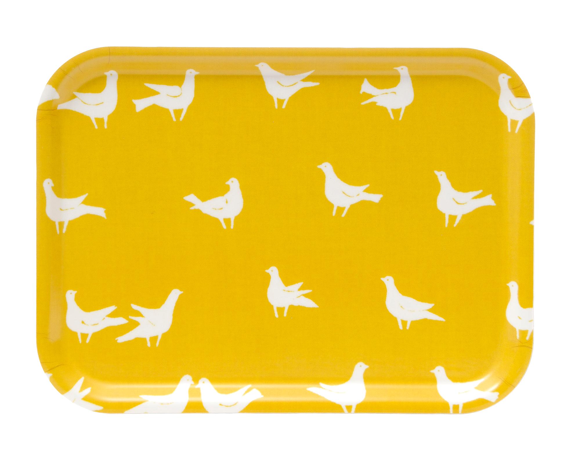 Bricka Duvtyget gul