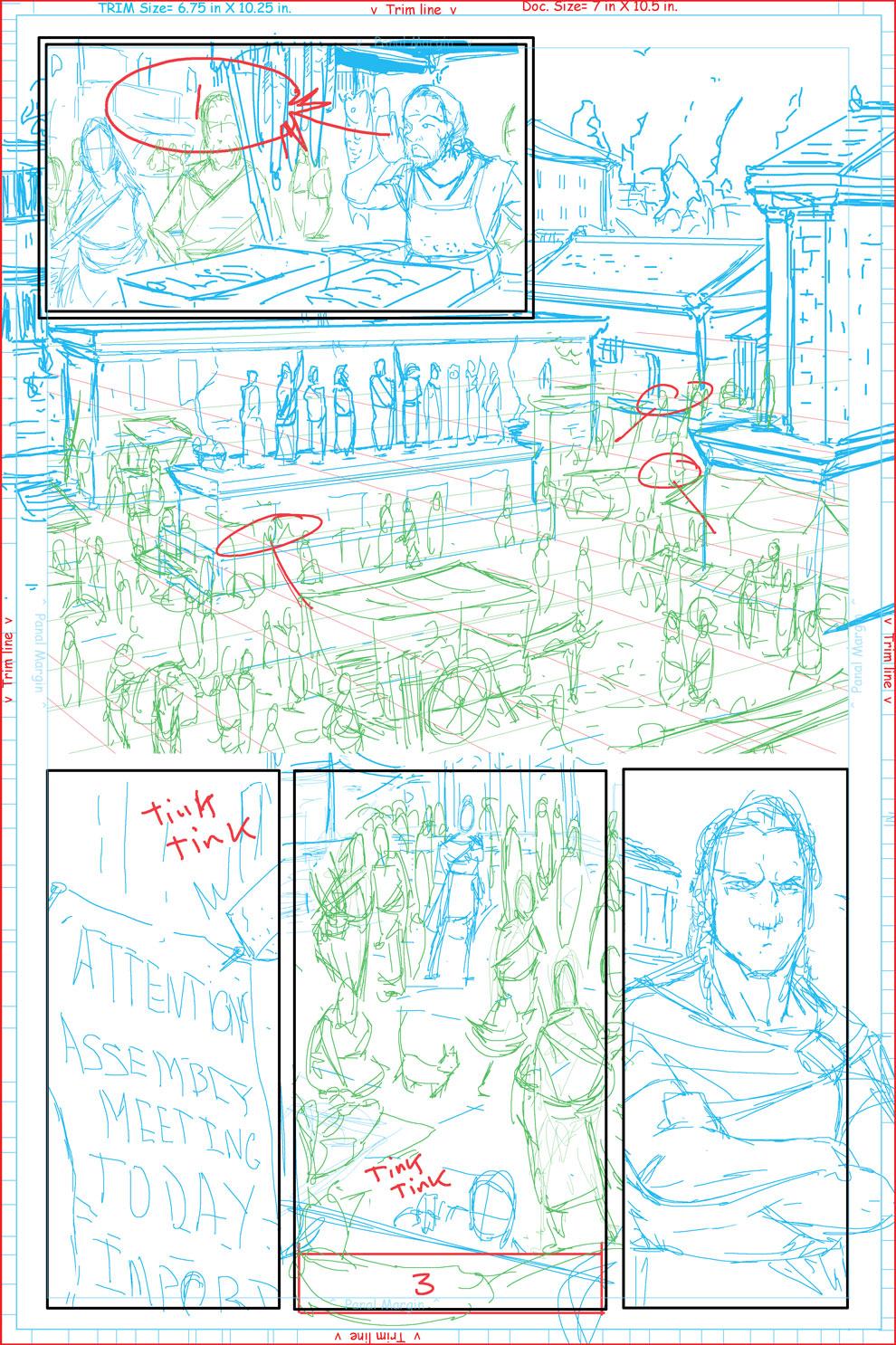 Page #2 layout