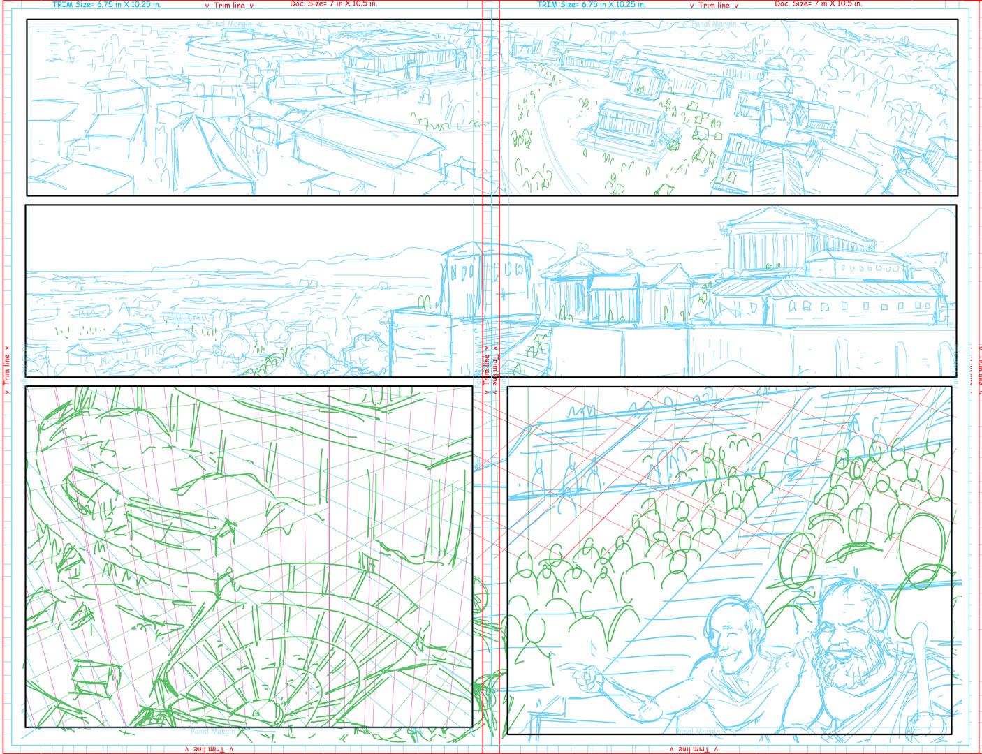 Page #4-5 spread
