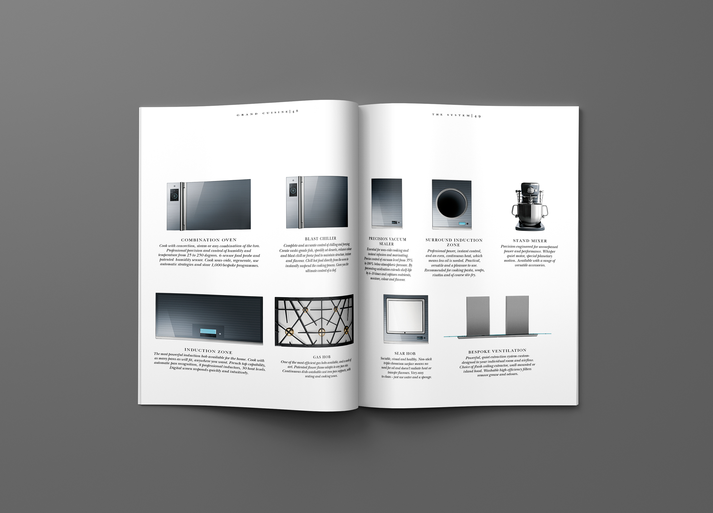 Electrolux Grand Cuisine / Brand Magazine — Anders Nord