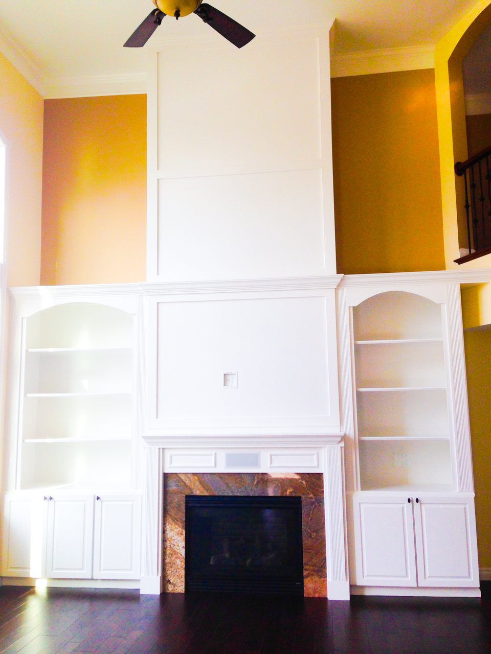 Building relationships one custom home at a time. General Contracting in the Fenton, South Lyon, Novi, Canton, Clarkston, Orion, and other Southwest Michigan areas Custom bookcase