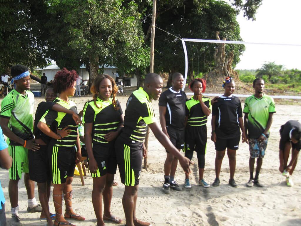 Team BYRC Volleyballmatch 2018